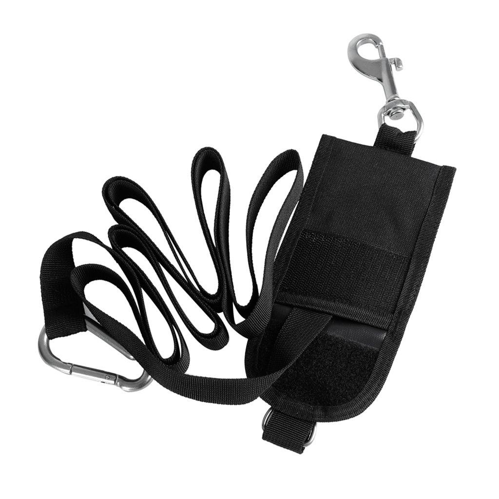 Deluxe Nylon Buddy Dive Line Strap with Carabiner Clip - The Eagle Ray Dive Shop