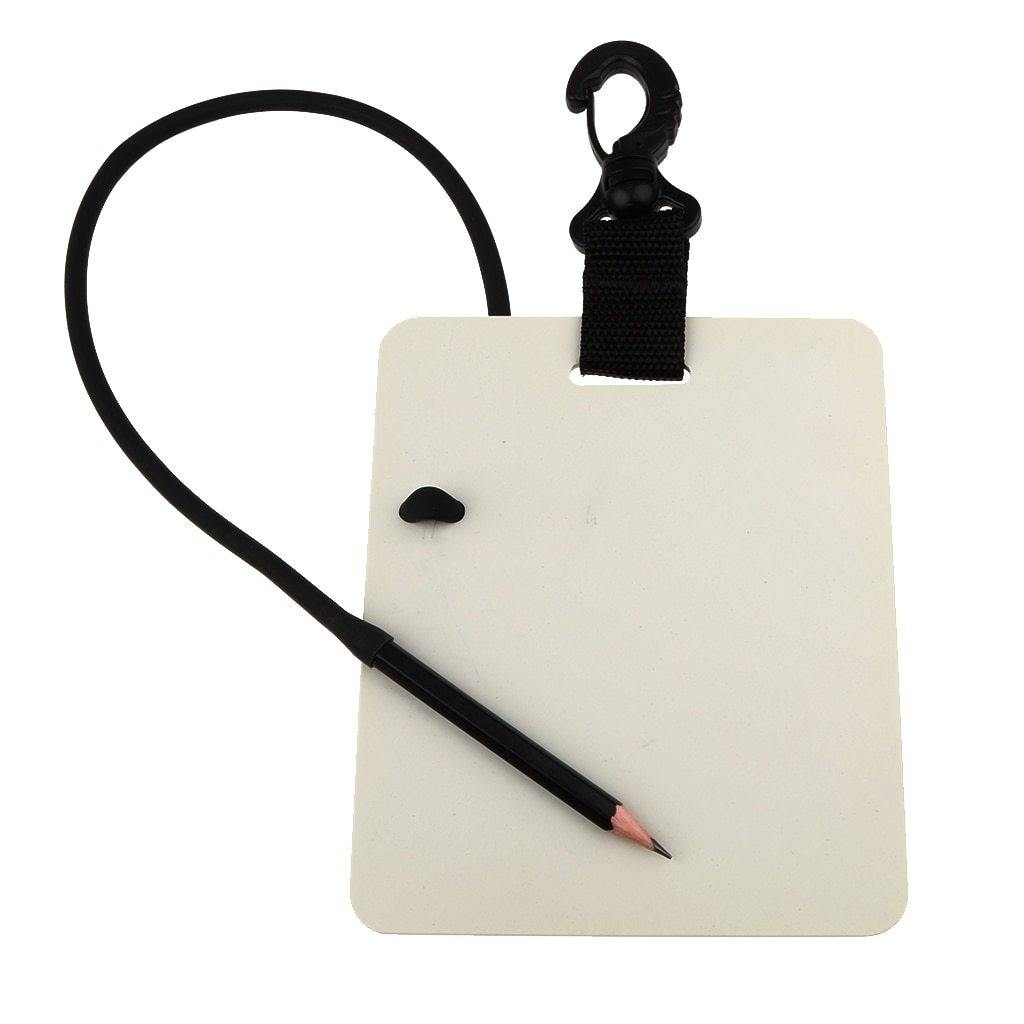 MagiDeal 6' X 5' Underwater Writing Slate with Pencil - The Eagle Ray Dive Shop