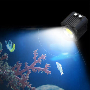 60m Waterproof LED Video Light - The Eagle Ray Dive Shop