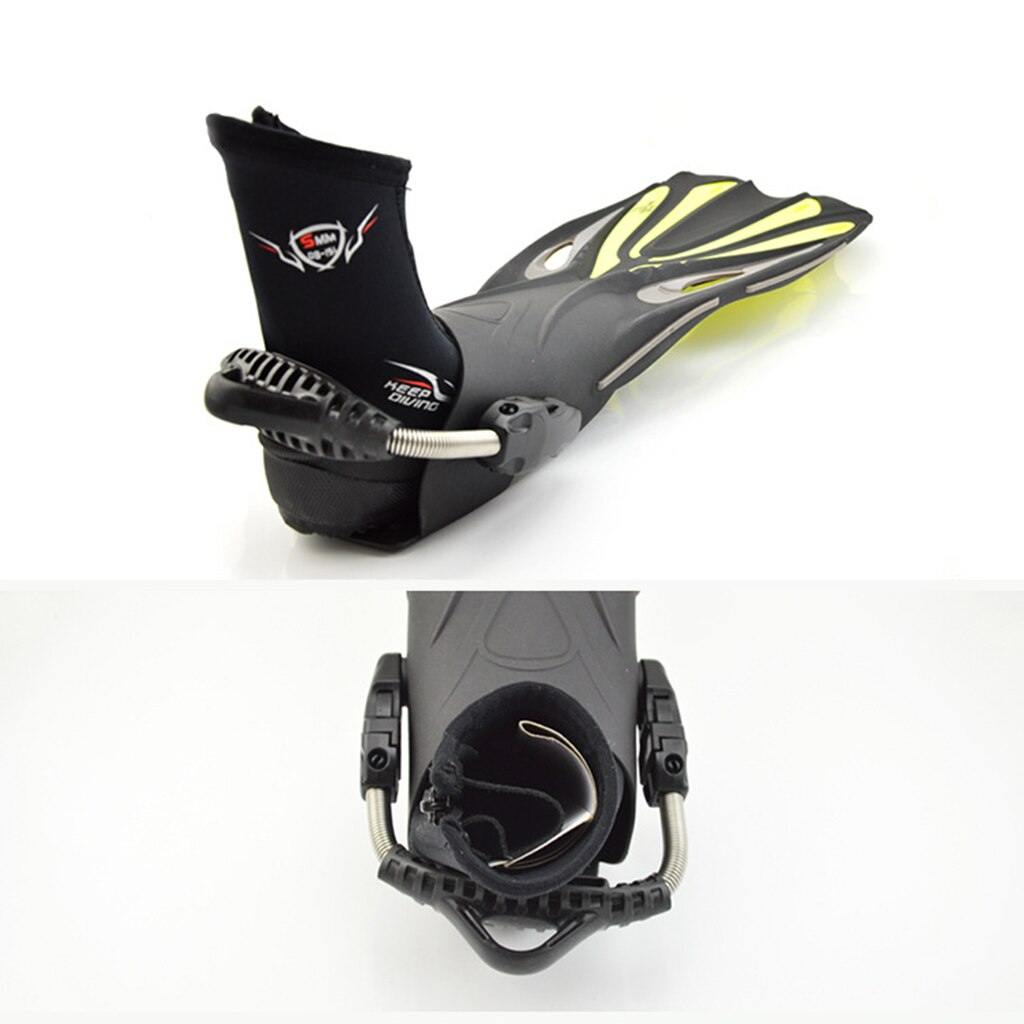 Premium Neoprene 5mm Hi Top Diving Boots for Men & Women - The Eagle Ray Dive Shop