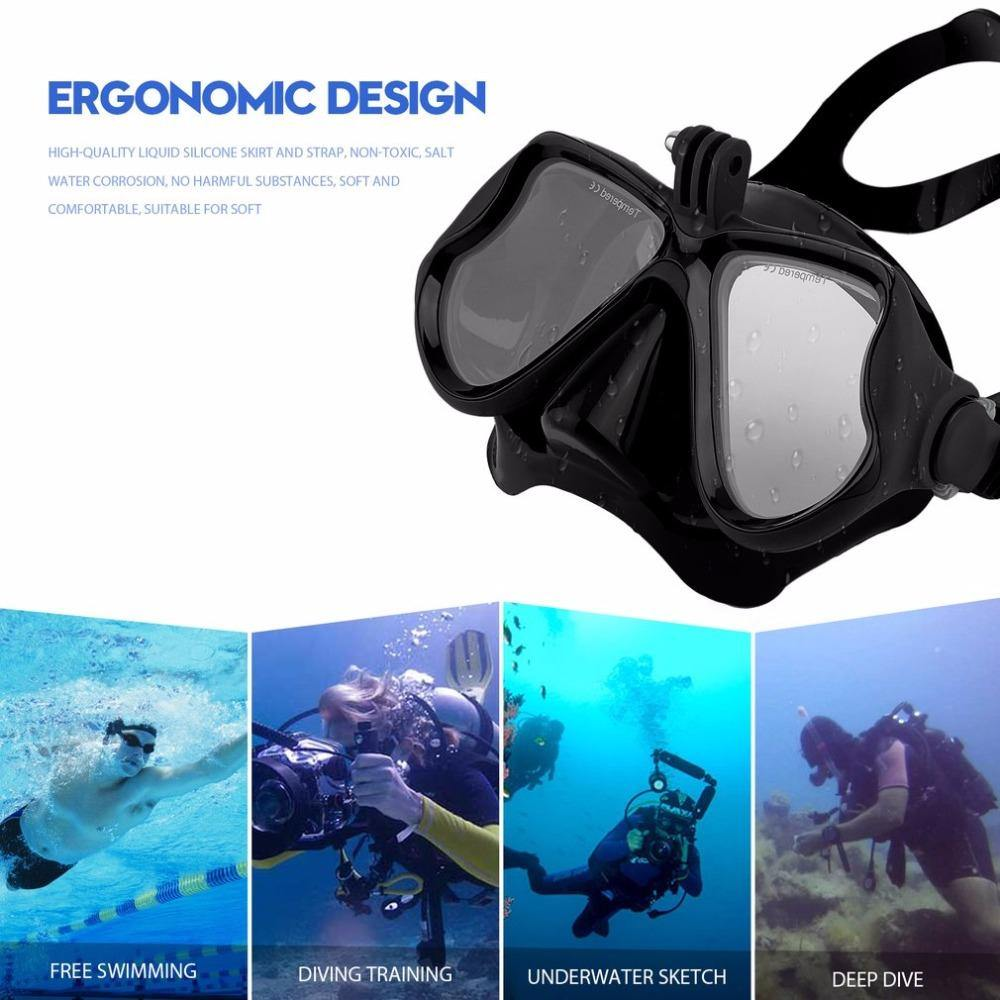 Camera Holding Dive Mask for taking Professional Underwater Videos - The Eagle Ray Dive Shop