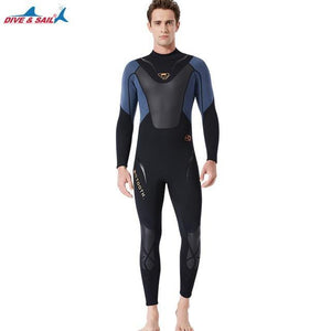 Dive&Sail Mens Full-Body 3mm Neoprene Wetsuit - The Eagle Ray Dive Shop