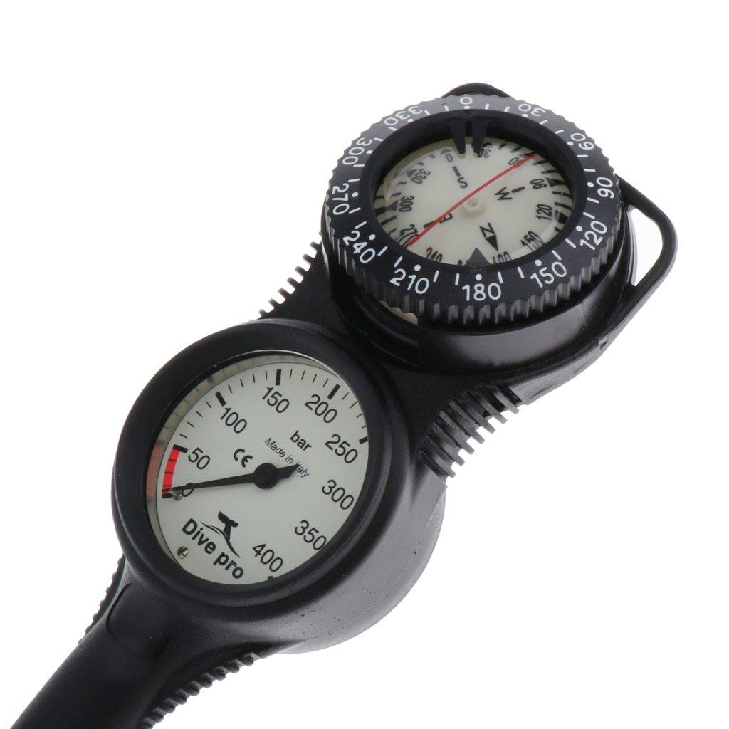 Mini Dive Console, Computer Backup - Compass Manometer W / 32 - The Eagle Ray Dive Shop