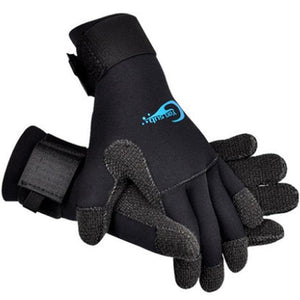 3mm Neoprene Non-Slip Kevlar Diving Gloves - The Eagle Ray Dive Shop