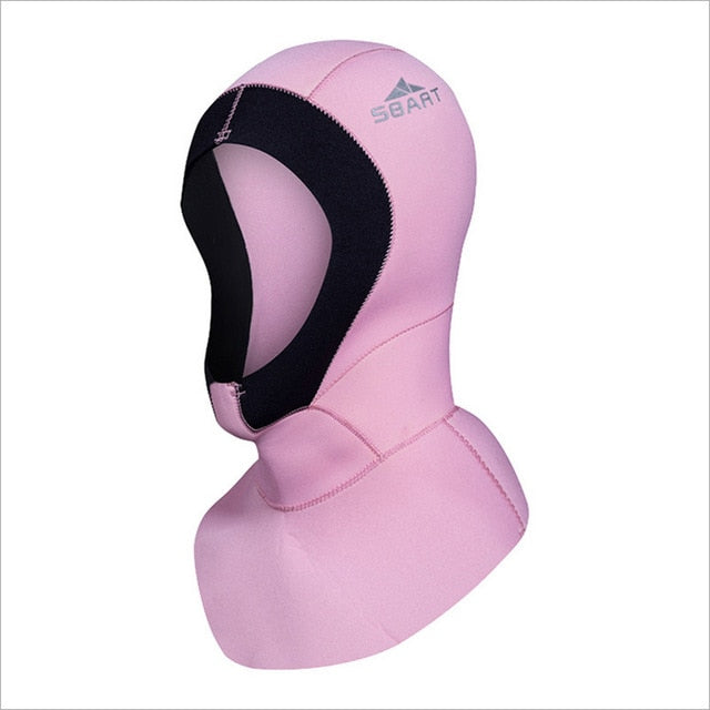 Sbart 3mm Neoprene Wetsuit Hood for Men & Women - The Eagle Ray Dive Shop