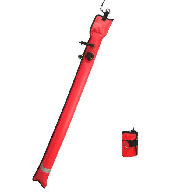 1M Inflatable SMB Surface Signal Marker Buoy - The Eagle Ray Dive Shop