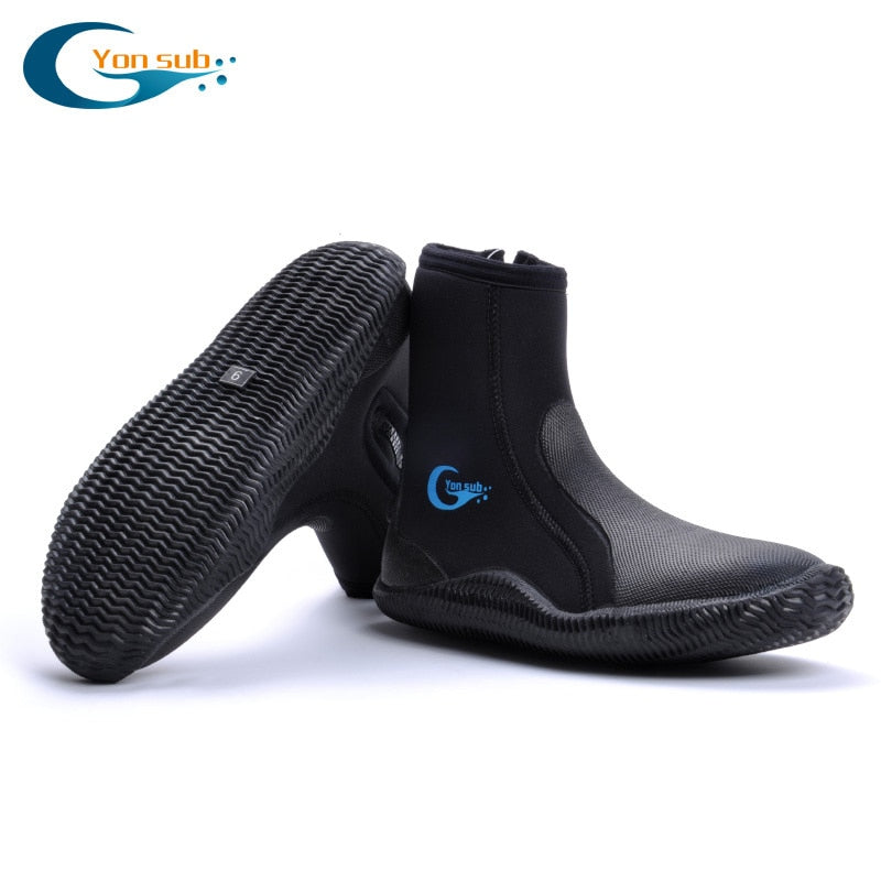 YONSUB 5MM Neoprene Diving Boots - The Eagle Ray Dive Shop