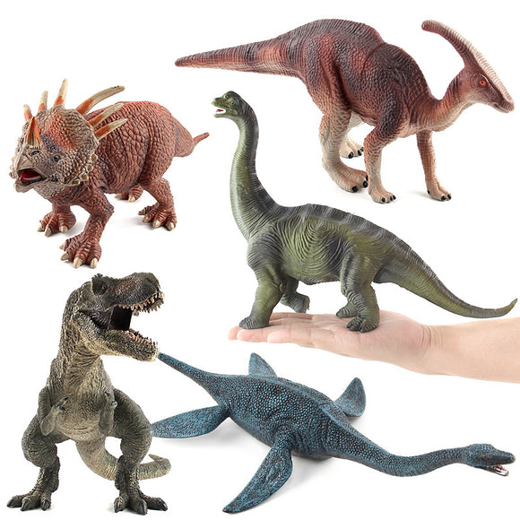 11Styles Grande taille Jurassic Wild Life Dinosaur Toy Set Jouets en plastique World Park Dinosaur Model Action Figures Kids Boy Gift