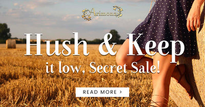 Hush and Keep it Low, Secret Sale!