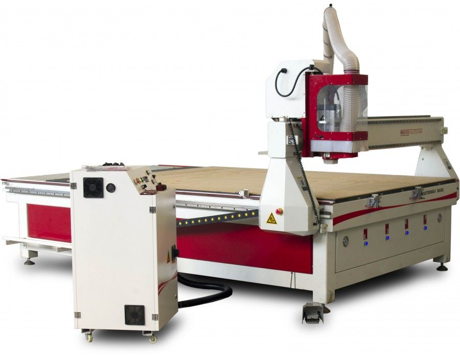 Naujas CNC apdirbimo centras Routermax BASIC 2131 DELUXE - Industry Solutions