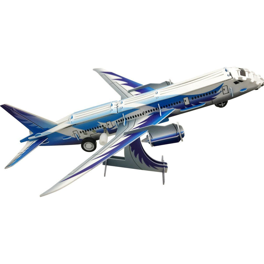 787 Airliner Wind-Up 3D Puzzle Pilot Toys