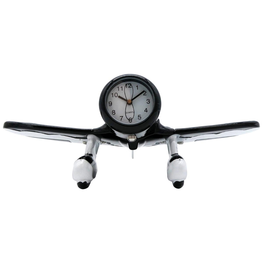 Black and White Gee Bee Desk Clock