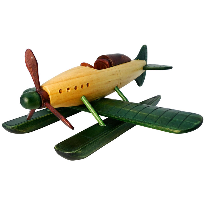Medium Wood Seaplane