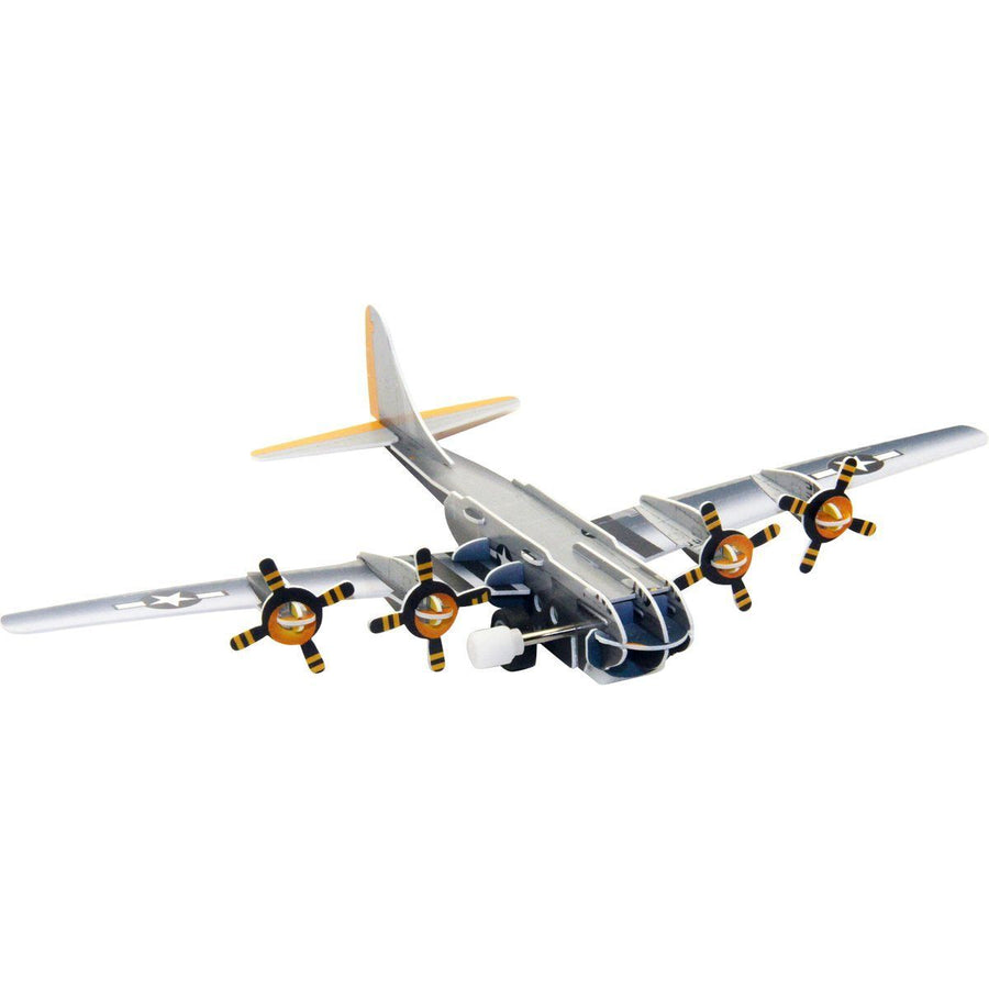 B-29 Superfortress Wind-Up 3D Puzzle Pilot Toys