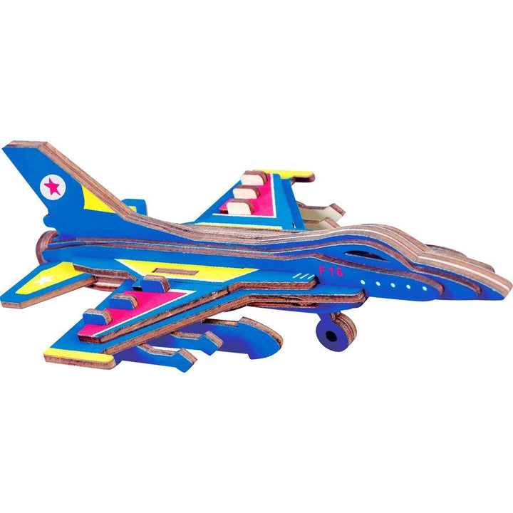 F-16 Fighting Falcon 3D Puzzle Pilot Toys