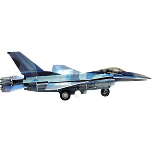 F-16 Fighting Falcon Wind-Up 3D Puzzle Pilot Toys