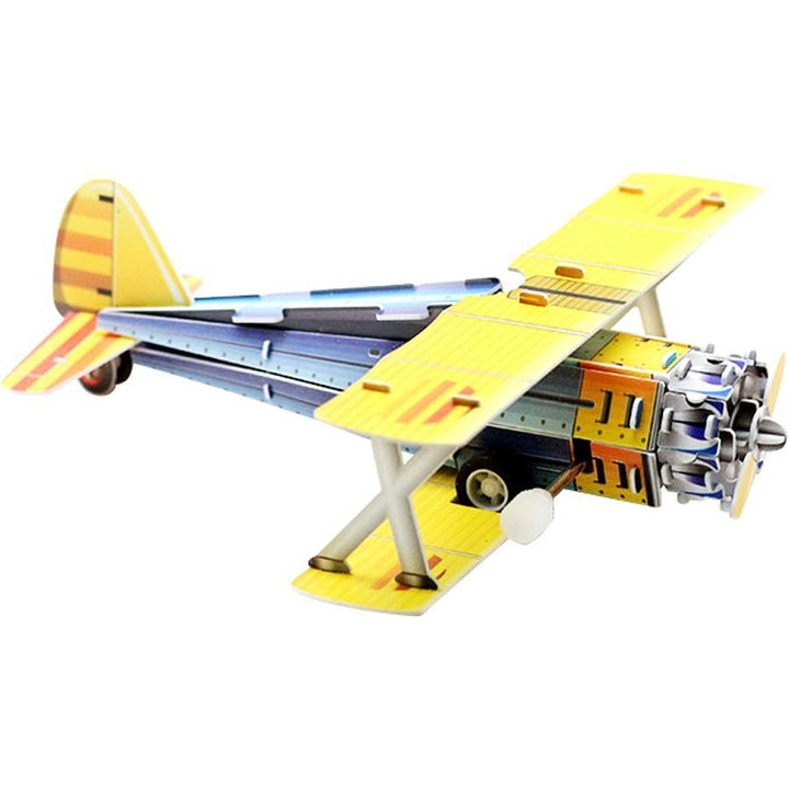 PT-17 Stearman Wind-Up 3D Puzzle Pilot Toys