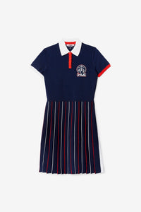 Brooks Brothers X FILA Rally Sweater dress