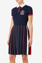 Load image into Gallery viewer, Brooks Brothers X FILA Rally Sweater dress
