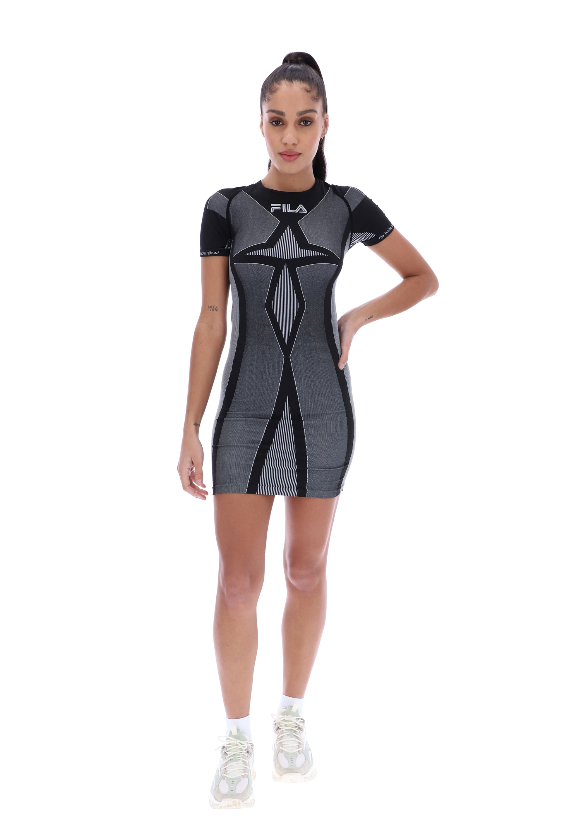 Rayelnn Seamless Bodycon Dress