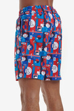 Load image into Gallery viewer, Kaeo Archive Aop Swim Shorts