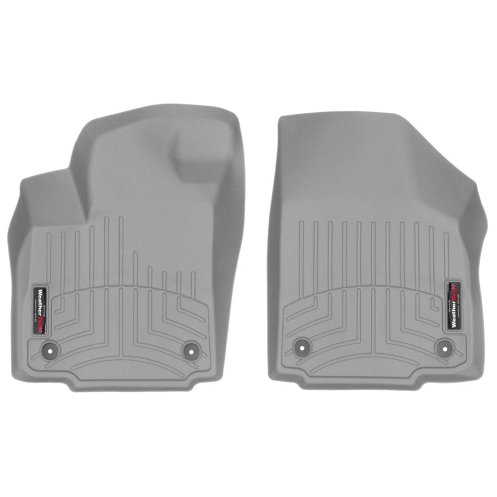 WeatherTech Front Floorliner - Grey | 2017-2020 Ford F-250 Super Duty (4610121)