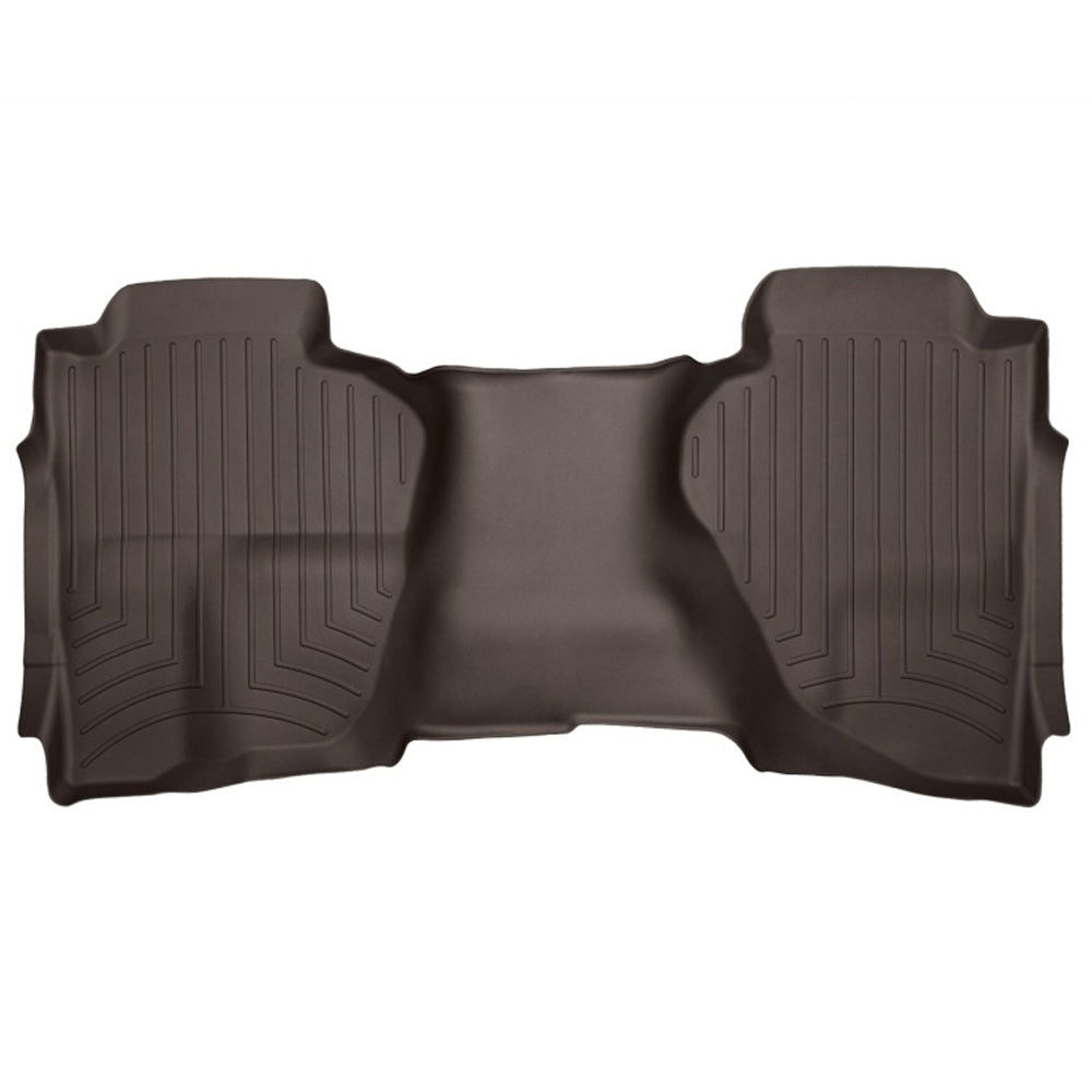 WeatherTech Rear DigitalFit Molded Floorliner  - Cocoa | 2016-2020 Chevy Silverado 1500 (475423)