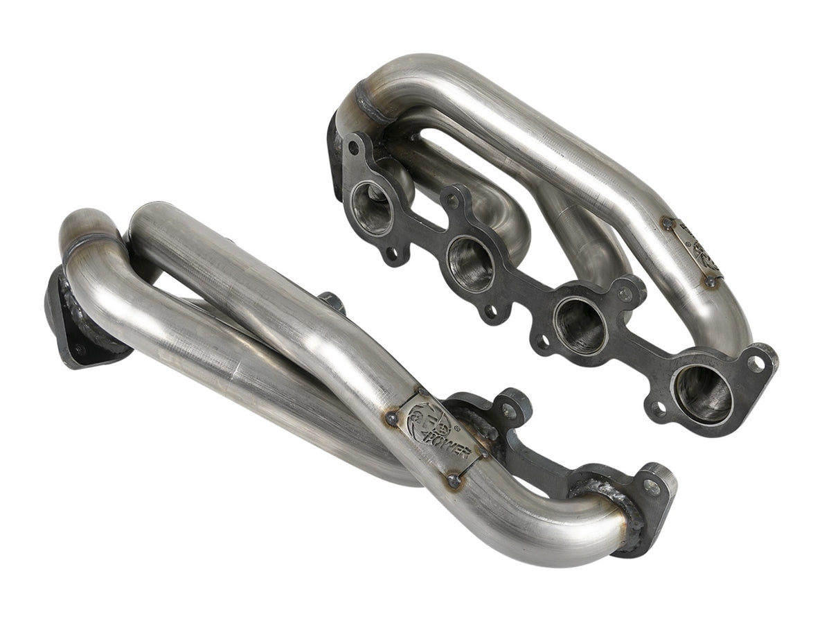 aFe Power Twisted Series Performance Headers | 2015-2020 Ford F-150 (48-33025)