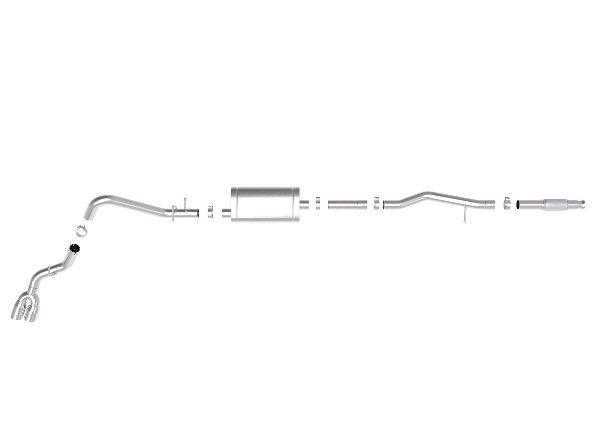 aFe Power Vulcan Series Side Exit Cat-Back Exhaust | 2019-2020 Chevrolet Silverado (49-34106)