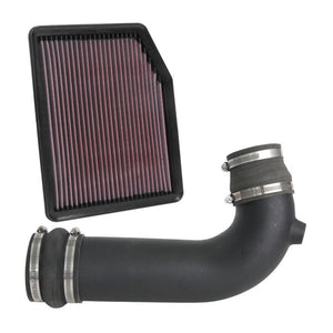 K&N Aircharger Performance Intake Kit | 2019-2020 4.3L V6 Chevy Silverado 1500 (63-3116)-thumbnail