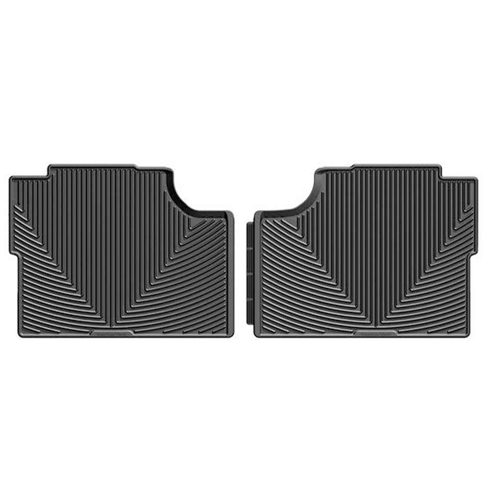 WeatherTech Rear Rubber Mat - Black | 2017-2020 Ford F-250 Crew Cab (W409)
