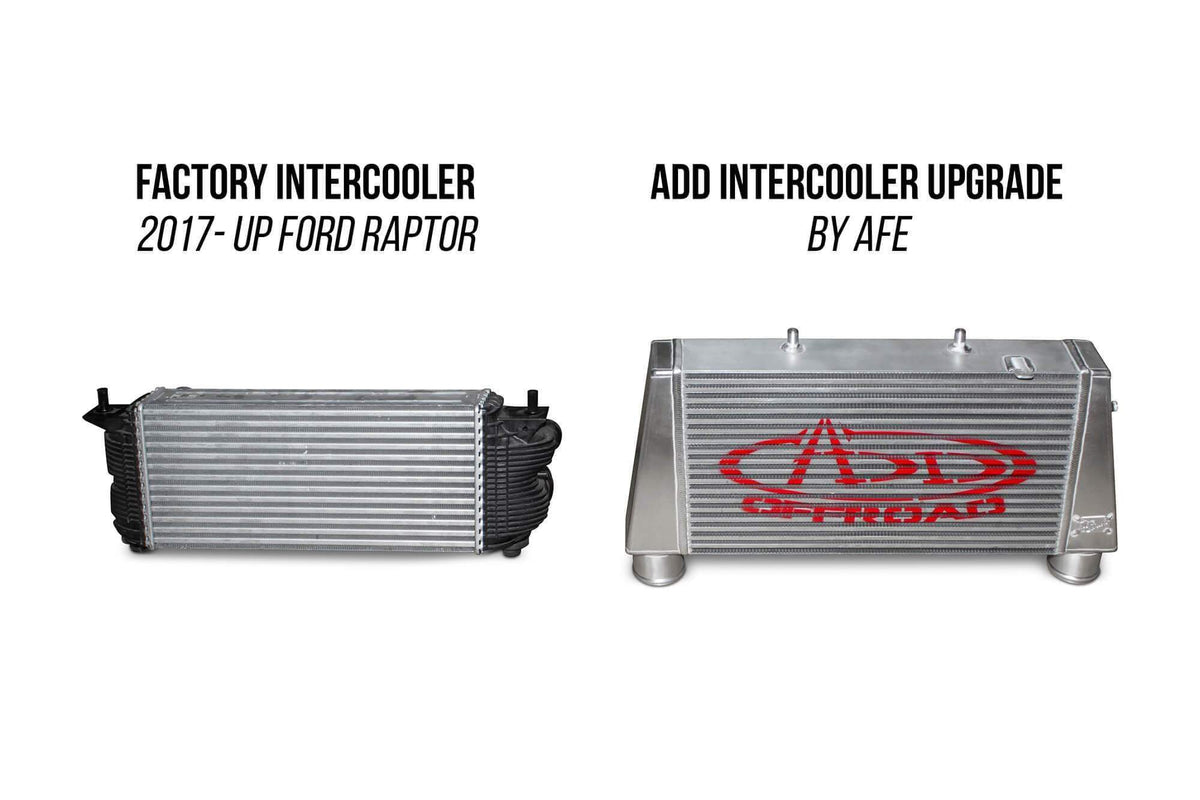 ADD aFe Intercooler Upgrade Kit | 2017-2018 Ford F-150 Raptor (IC1650KIT)