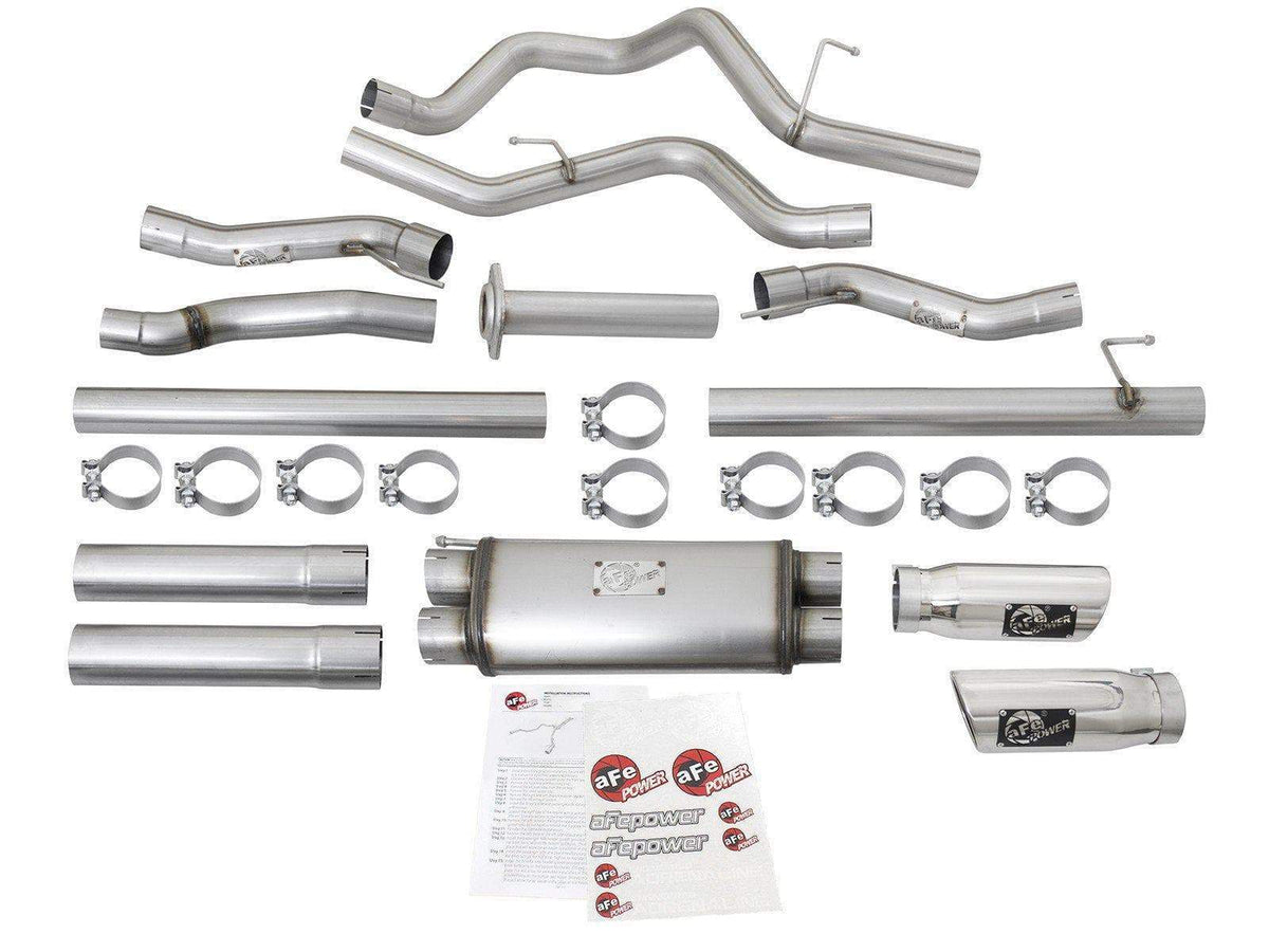 aFe MACH Force-Xp 409SS Cat-Back Exhaust | 2017-2020 Ford F-150 Raptor (49-43045)