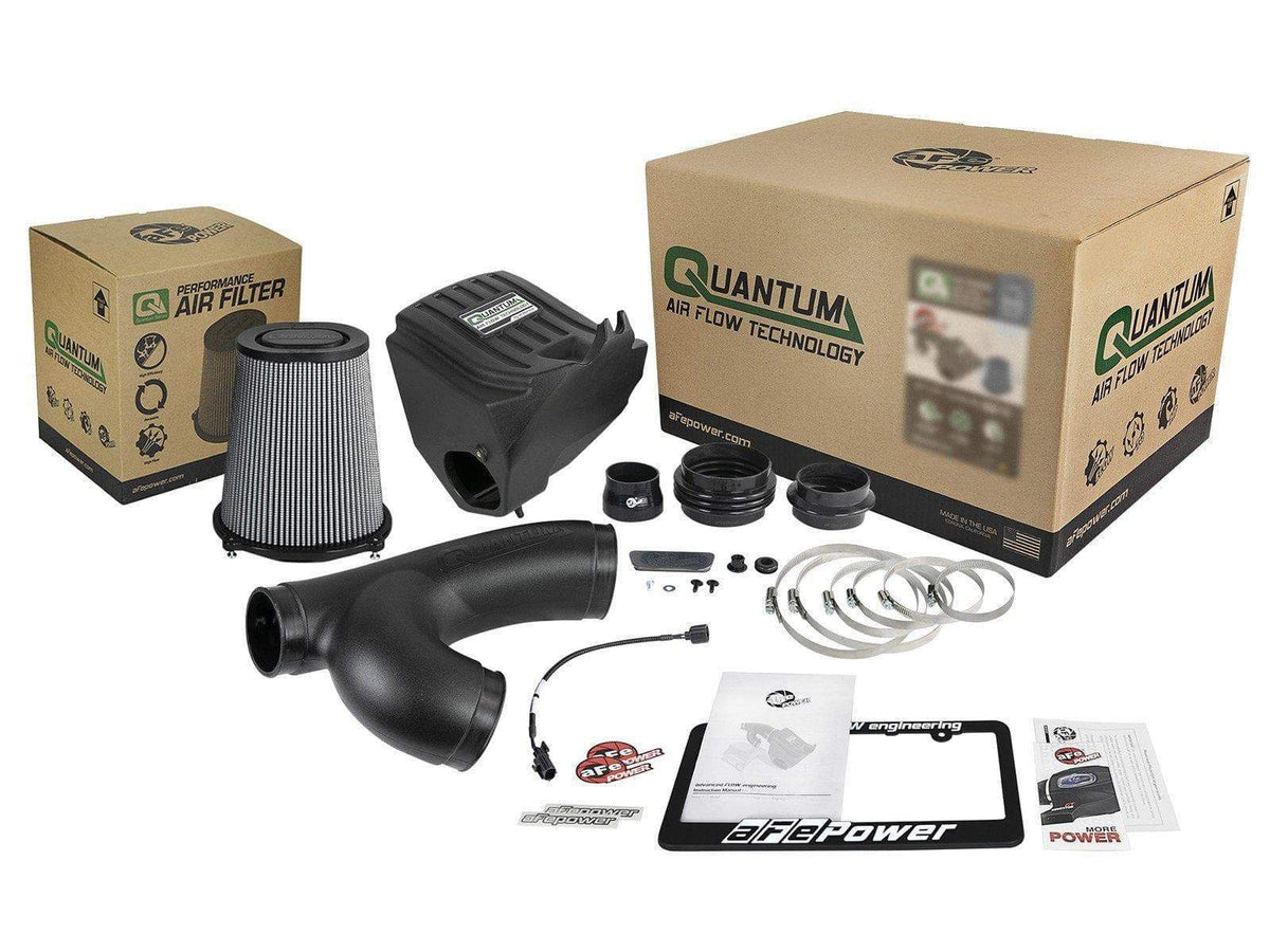 aFe Quantum Pro DRY S Cold Air Intake | 2015-2020 Ford F-150 Ecoboost 2.7TT/3.5TT (53-10008D)
