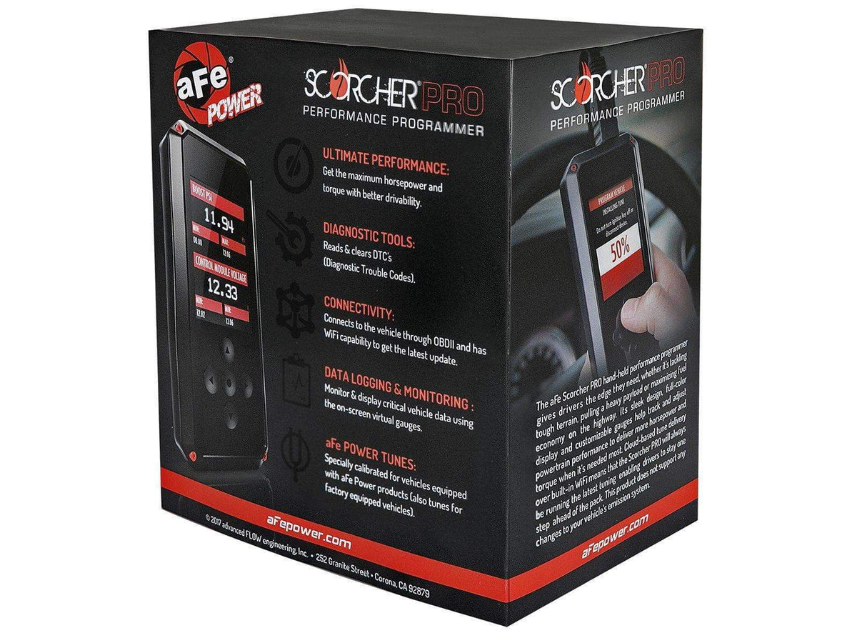 aFe SCORCHER PRO Performance Programmer | 2017-2020 Ford F-150 Raptor (77-33001)