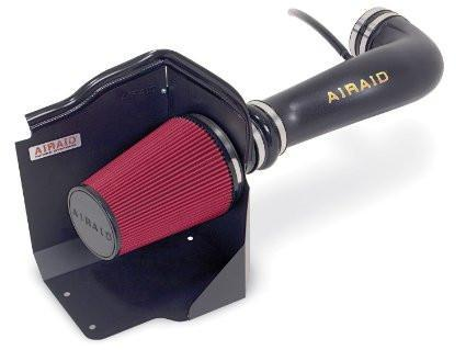 Airaid 07-08 Chevy Avalanche/Sierra/Silverado/Tahoe CAD Intake System w/ Tube (Dry / Red Media) - Modern Automotive Performance