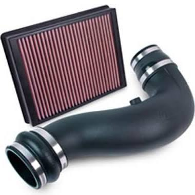 2014-2015 Chevrolet Silverado / GMC Sierra 6.2L Airaid Jr. Intake Kit, Dry / Red Media by Airaid (201-711) - Modern Automotive Performance