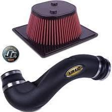 2011-2013 Ford F-150 5.0L Airaid Jr Intake Kit - Oiled / Red Media by Airaid (400-799) - Modern Automotive Performance