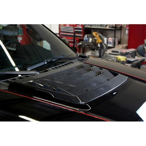 APR Carbon Fiber Hood Vent | 2017-2020 Ford F-150 Raptor (CF-207005)-thumbnail