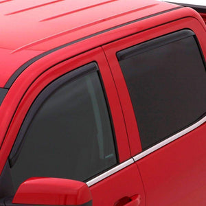 AVS Ventvisor 4-Piece In-Channel Window Deflector Set | 2015-2020 Ford F-150 SuperCab (194974)-thumbnail
