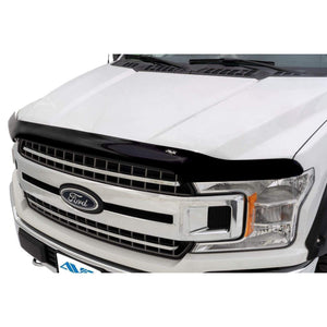 AVS Bugflector II Dark Smoke Hood Shield | 2017-2020 Ford F-150 Raptor (25637)-thumbnail
