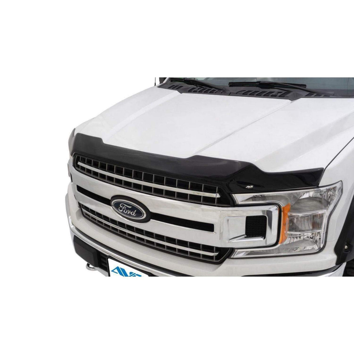 AVS Aeroskin Flush Mount Dark Smoke Hood Protector | 2017-2020 Ford F-150 Raptor (322127)