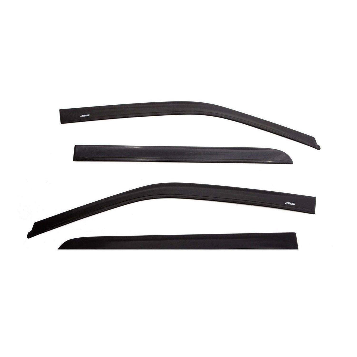 AVS Ventvisor 4-Piece Matte Black Window Deflector Set | 2015-2020 Ford F-150 SuperCrew (774044)