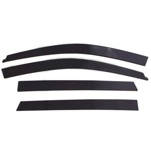 AVS Ventvisor 4-Piece Dark Smoke Window Deflector Set | 2015-2020 Ford F-150 SuperCrew (894044)-thumbnail