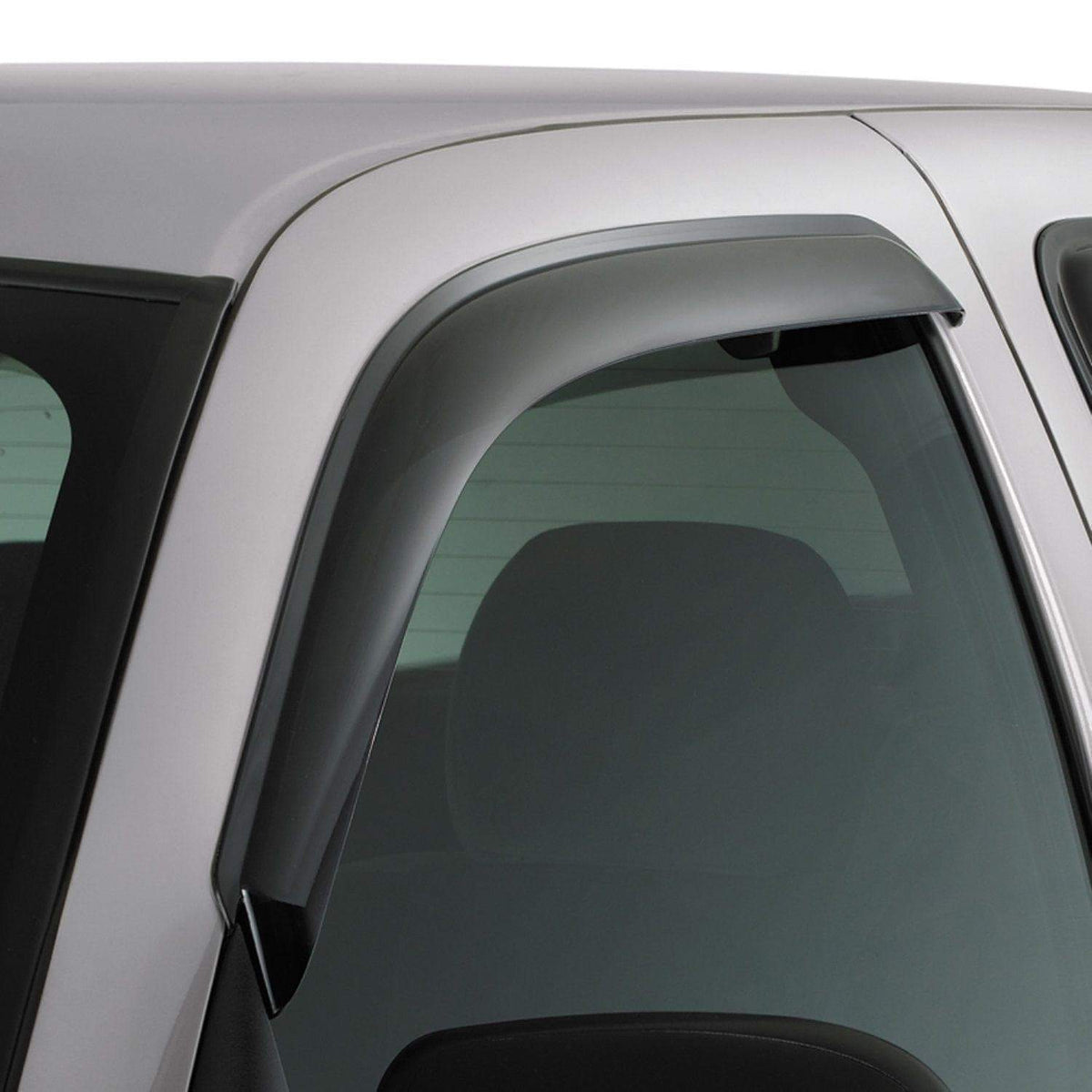 AVS Original Ventvisor 2-Piece Dark Smoke Window Deflector Set | 2015-2020 Ford F-150 Standard Cab (92971)