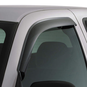 AVS Original Ventvisor 2-Piece Dark Smoke Window Deflector Set | 2015-2020 Ford F-150 Standard Cab (92971)-thumbnail