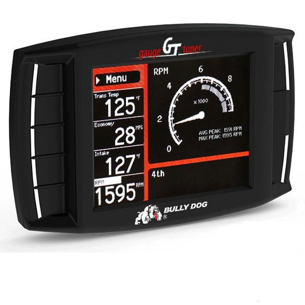 Triple Dog Platinum GT Gas Tuner Programmer with Monitor Gauge by Bully Dog - Modern Automotive Performance