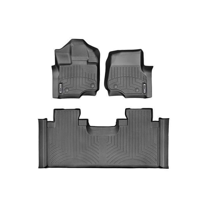 COBB x WeatherTech FloorLiner Set | 2017-2020 Ford F-150 Raptor SuperCab (COBBWT44697-1-3)