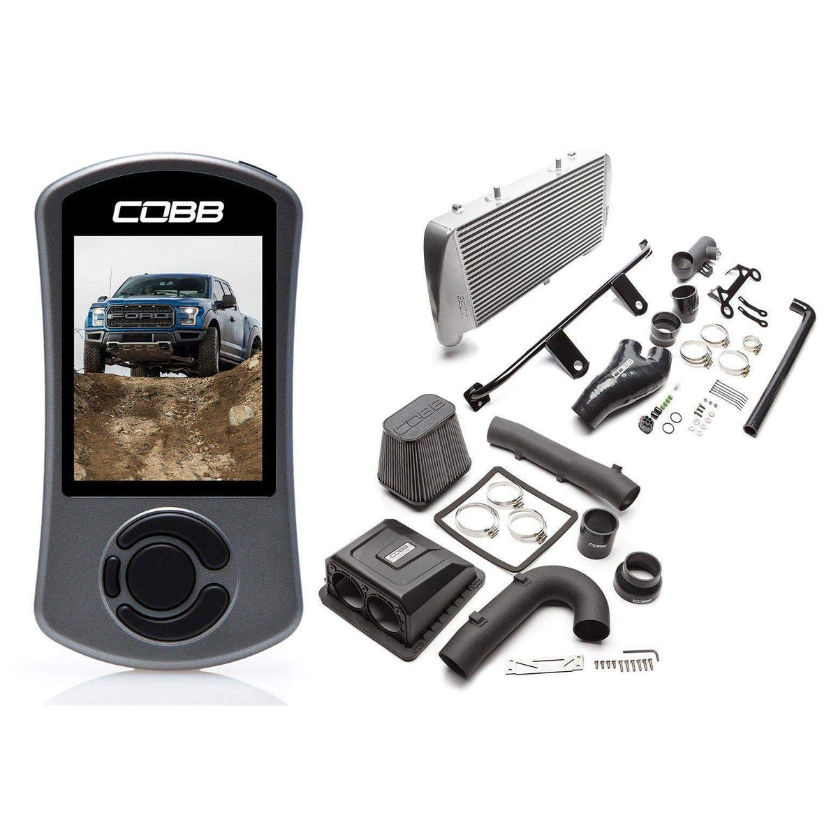 COBB Stage 2 Power Package | 17-20 Ford F-150 Raptor / 19-20 F-150 Limited (FOR0050020)