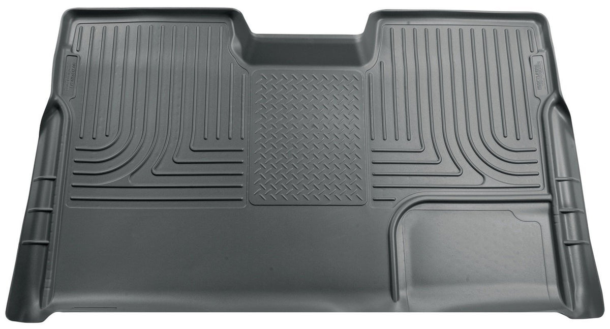 2009-2012 Ford F-150 Super Crew WeatherBeater Gray Rear Cargo Liner by Husky Liners (19332) - Modern Automotive Performance